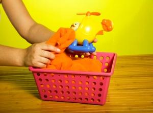 Seque bem o brinquedo com um pano seco e limpo.