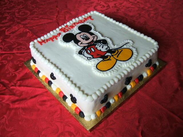 Bolos de Mickey Mouse bebé - Imagui