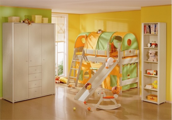 kids-bedroom-playroom-paidi-yellow-green-orange