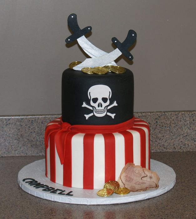 Jack And The Pirates Cake