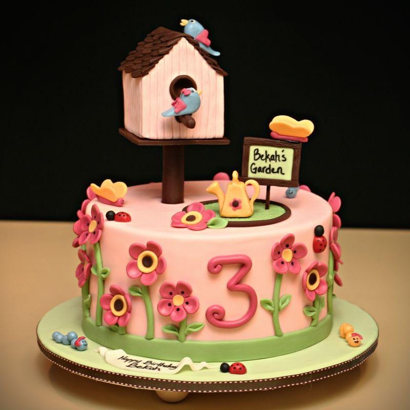 Cake Ideas For 3 Year Girl : Inspirac?es?. Bolos com Borboletas   Bebe-a-Porter